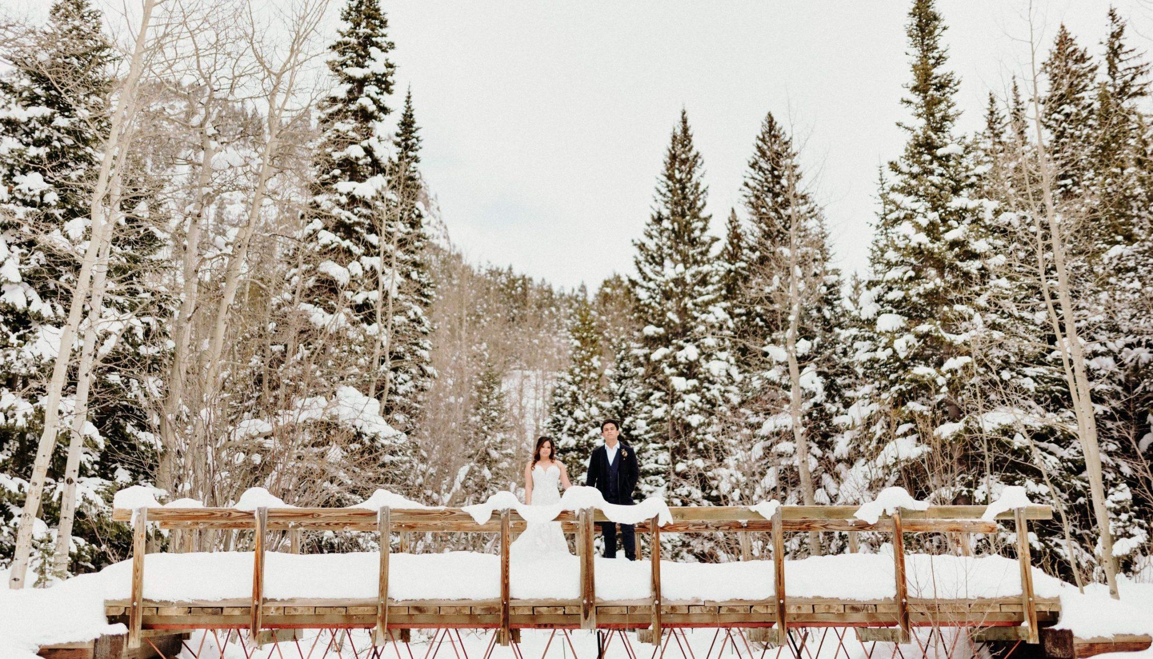 Colorado Winter Elopement in Boulder, Colorado